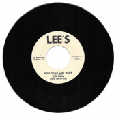 Glen Adams - Hold Down Miss Winey / Glen Adams - I Remember (Lee's / Dub Store) 7""
